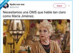 Enlace a Ole tus ovarios, María. Por @nyconene