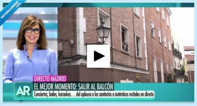 543922 - Lo ocurrido en una calle de Madrid en plena crisis del coronavirus hace llorar a Ana Rosa en pleno directo