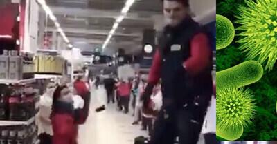 544049 - Unos trabajadores de un Carrefour triunfan con lo que hicieron antes de abrir las puertas