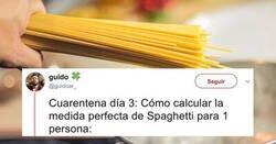 Enlace a El sencillo y eficaz truco para calcular cuánto es una ración de espaguetis