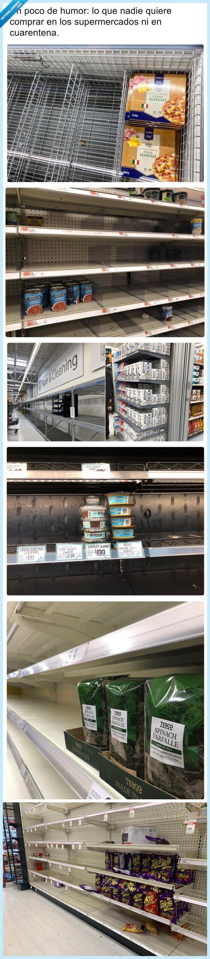 comida,coronavirus,cuarentena,ni con un palo,productos,supermercado