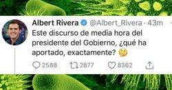 Enlace a El tremendo zasca de Albert Rivera a una mujer que lo ningunea en redes sociales