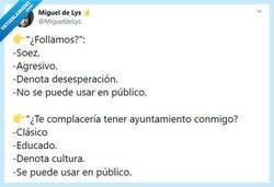 Enlace a Hay maneras mejores de proponerlo, por @MigueldeLys