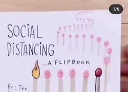 Enlace a A ver si así se entiende lo de la distancia social