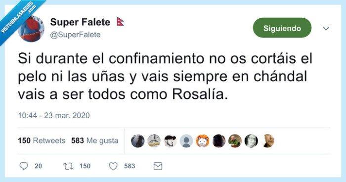 chandal,confinamiento,coronavirus,rosalía,uñas