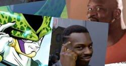Enlace a Brutal, recrean a Cell de Dragon Ball en forma de los memes más conocidos
