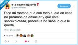Enlace a Pobres roombas, por @TeLeoDelReves