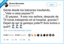 Enlace a Hay que saber a quien gritamos y a quien no, por @lvarobarrantes