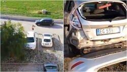 Enlace a Un runner se lía a martillazos con el coche de una vecina que le regañó por salir