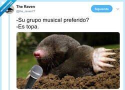 Enlace a El grupo musical preferido del topo, por @the_raven77