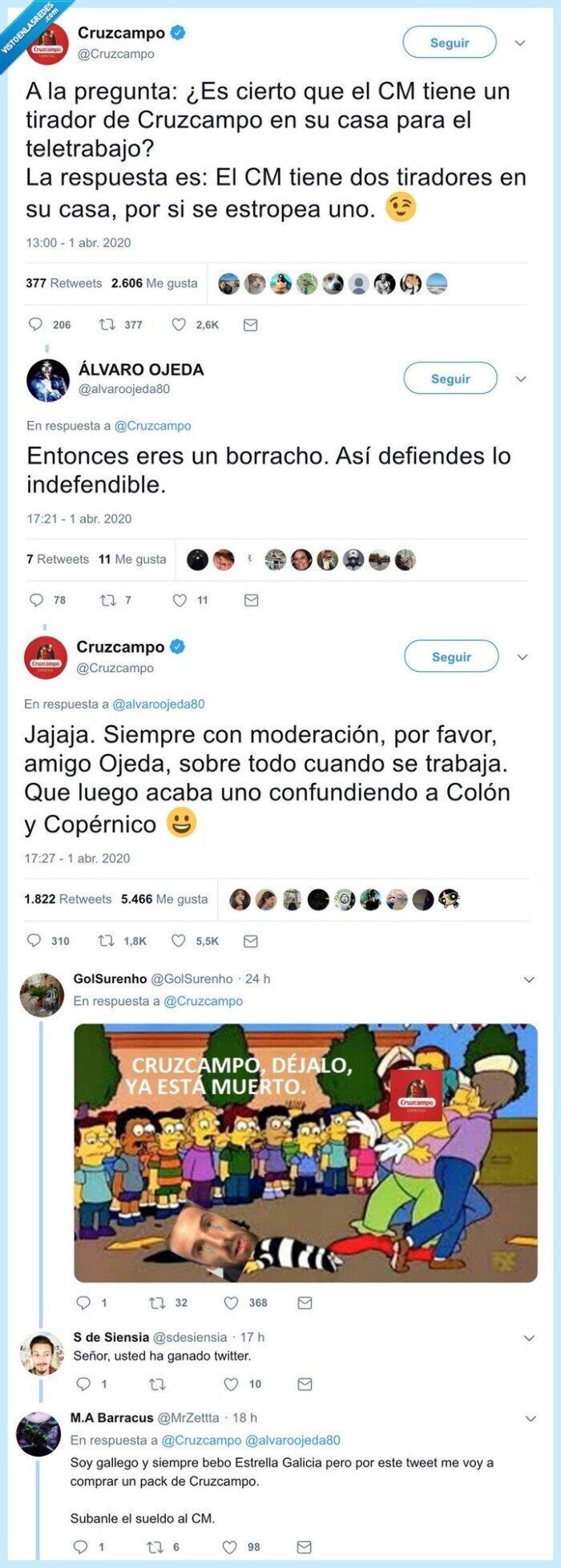 @Cruzcampo,Ahora,Amo,decís,Puto,que