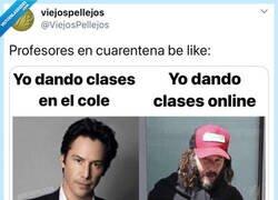Enlace a Dar clases online tiene su ventaja, por @viejospellejos