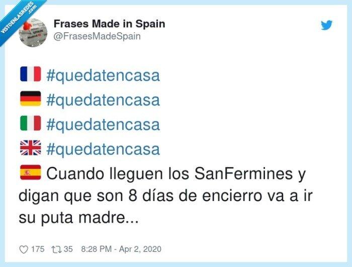 quedatencasa,SanFermines