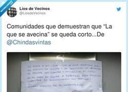 Enlace a Espero que no se encuentren en el rellano, por @LiosdeVecinos