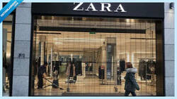 Enlace a ZARA cambia su logo por el coronavirus