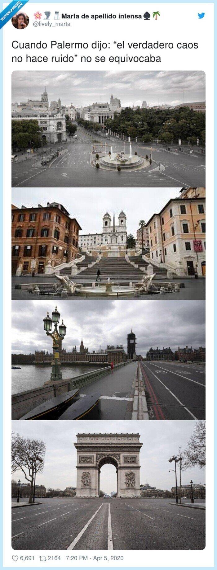 equivocarse,Palermo,ruido,verdadero