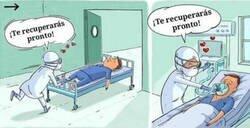 Enlace a El comic que refleja la realidad de todos los sanitarios de nuestro país por culpa del coronavirus, por @ainazcartoon