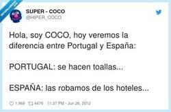 Enlace a Diferencias entre Portugal y España, por @HIPER_COCO