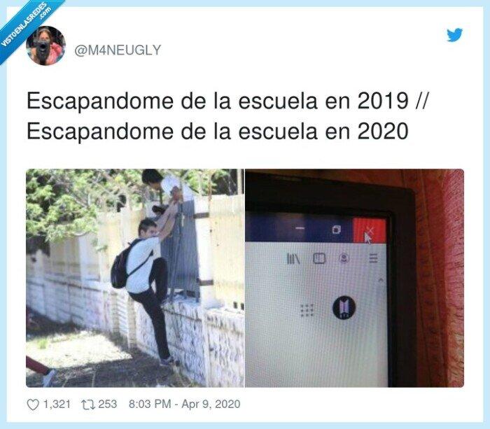 2019,2020,escapandome,escuela