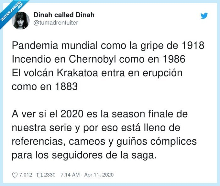 chernobyl,cómplices,erupción,pandemia,referencias,seguidores
