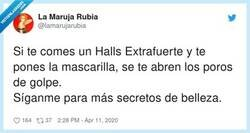 Enlace a Si te metes dos cayenas en el paladar creo que te depilas, por @lamarujarubia