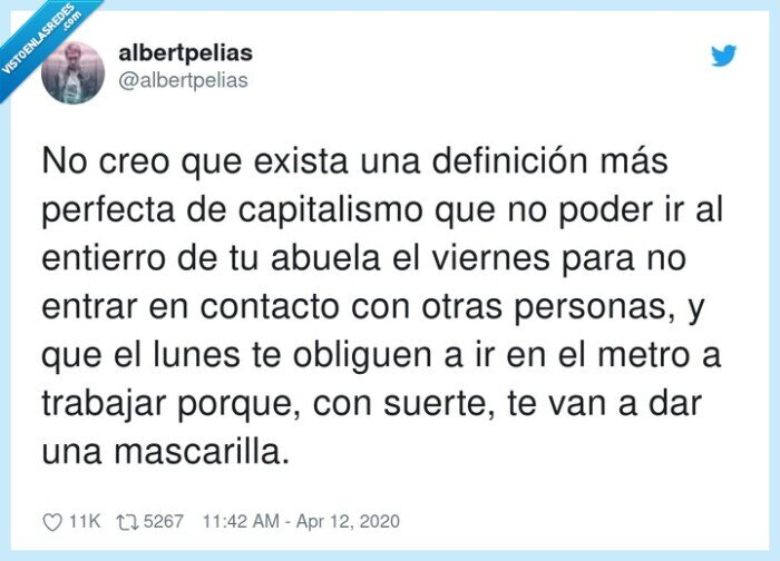 capitalismo,definición,mascarilla,obliguen,personas,trabajar