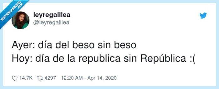 día de la república,día del beso