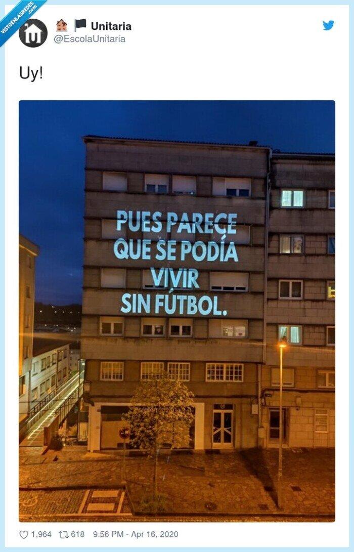 edificio,fútbol,vivir