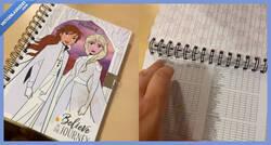 Enlace a Madre flipando al descubrir que en el diario de 'Frozen 2' de su hija hay una lista de posturas sexuales