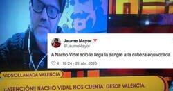Enlace a Nacho Vidal dice en Sálvame que no entiende los aplausos de las 20.00 y se lía