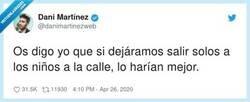 Enlace a #niñosenlacalle, por @danimartinezweb