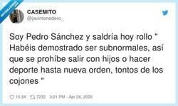 Enlace a Debido a la fallida prueba del día de hoy, debemos revertir las medidas de desconfinamiento hasta nueva orden, por @javimonedero_