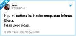 Enlace a Croquetas Elena, por @nakocomico