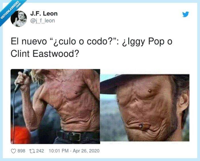clint eastwood,codo,culo,iggy pop,nuevo