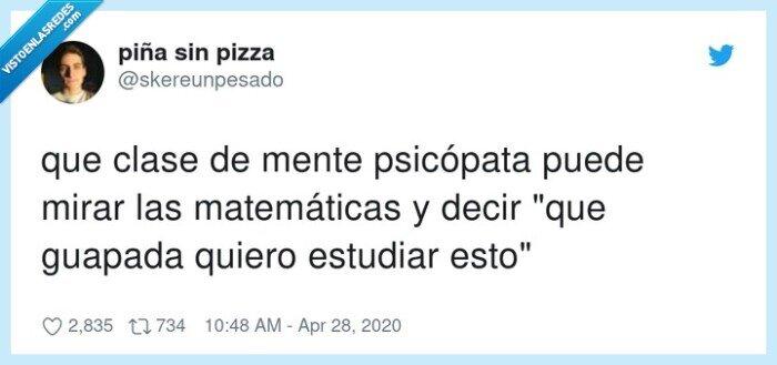 clase,estudiar,guapada,matemáticas,psicópata