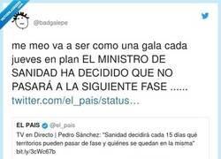 Enlace a Quedan nominados, Madrid, Cataluña y Andalucía a no pasar a la siguiente fase, por @badgalepe