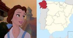 Enlace a Comunidades autónomas como si fueran princesas Disney. Catalunya es Elsa, Madrid Blancanieves... Por @MJRuizAkihabara