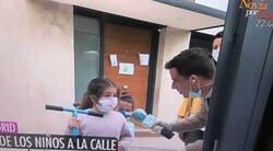 Enlace a Un reportero de El Programa de Ana Rosa la lía al entrevistar a esta niña en la calle