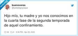 Enlace a Esos besos con mascarilla, por @yatedigoyoque