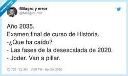 Enlace a ¿De historia de España o contemporánea?, por @MilagroError