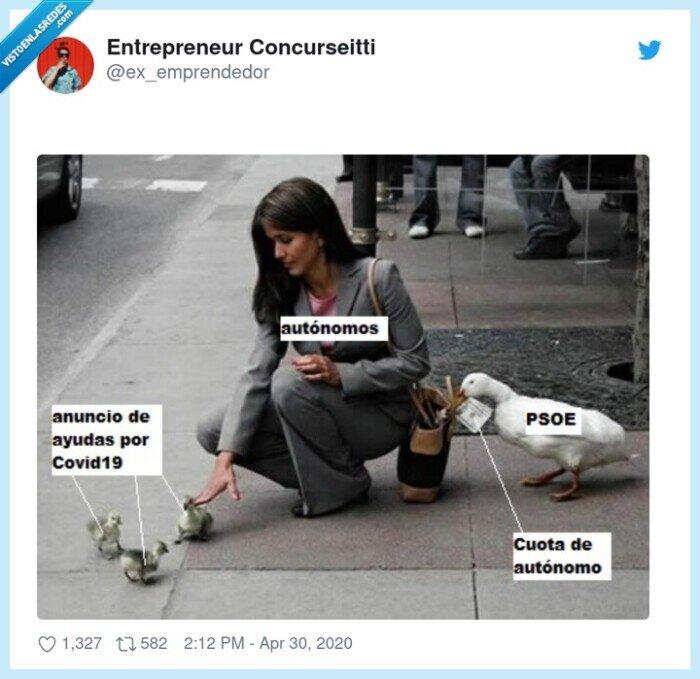 autonomos,ayudas,dinero,psoe,robar
