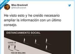Enlace a Distanciamiento social, por @MissBracknell