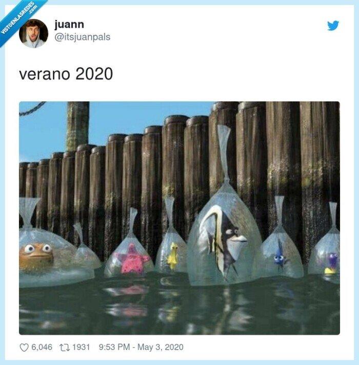 2020,bolsas,dory,nemo,verano