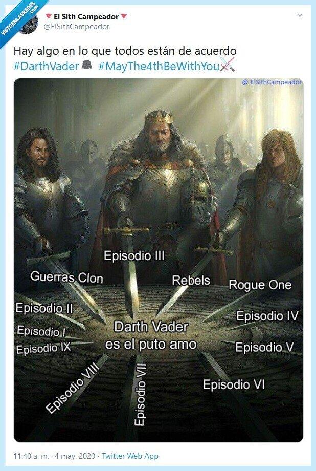 4 mayo,darth vader,episodio,may the 4th,peliculas,star wars