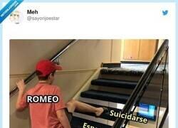 Enlace a Romeo Romeo... piensa un poco, por @sayorijoestar