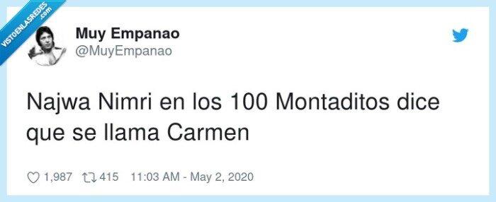 100 montaditos,carmen,najwa nimri