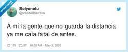 Enlace a No me viene de nuevo, por @casitodoelrato
