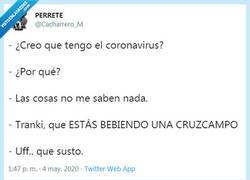 Enlace a Los síntomas del covid19, por @Cacharrero_M