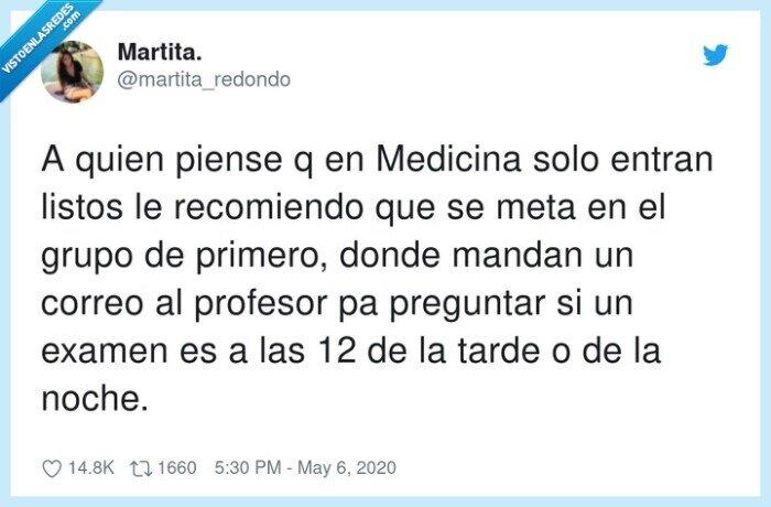 listos,medicina,primero,profesor