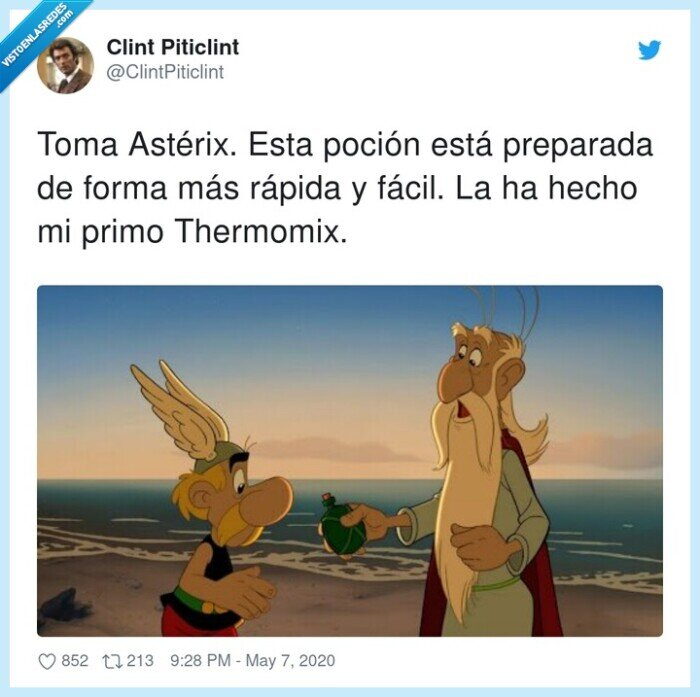 astérix,panoramix,poción,thermomix